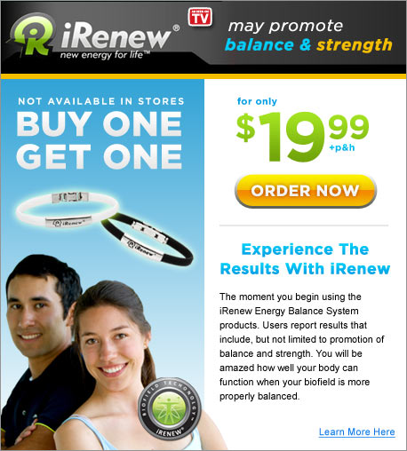 iRenew — New Energy For Life